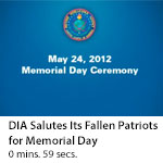 DIA Salutes Its Fallen Patriots for Memorial Day