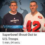 DIA Superbowl Shout Out to U.S. Troops
