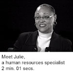 Meet Julie, a human resources specialist at NGA