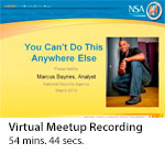 Virtual Meetup Recording