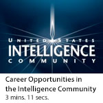 Career Opportunities in the Intelligence Community
