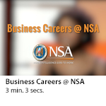 Business Careers @ NSA