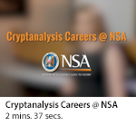Cryptanalysis Careers @ NSA