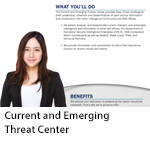 Current and Emerging Threat Center