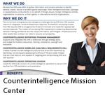 Counterintelligence Mission Center