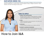 How to Join I&A