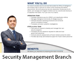 Security Management Branch