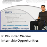 IC Wounded Warrior Internship