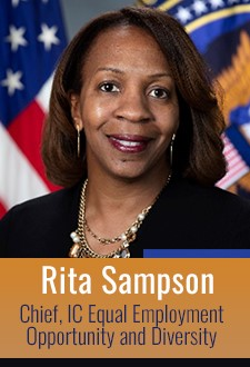 Rita Sampson, Chief, IC Equal Opportunity and Diversity